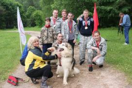 команда с собакой