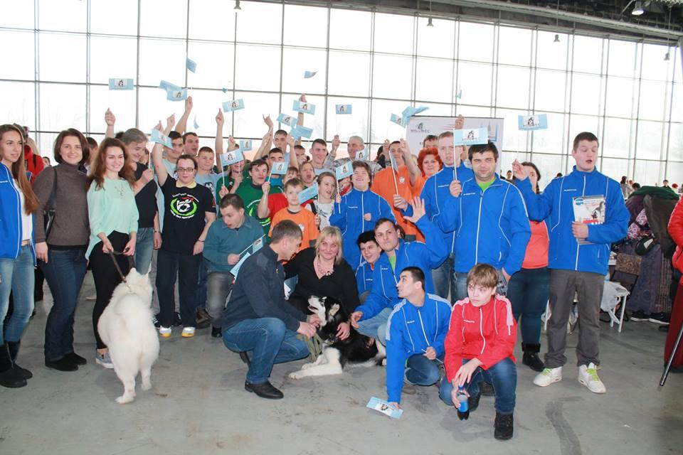 Международная выставка собак всех пород